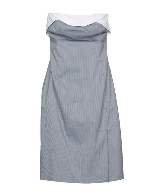 Antonio Berardi Blue Short Dress