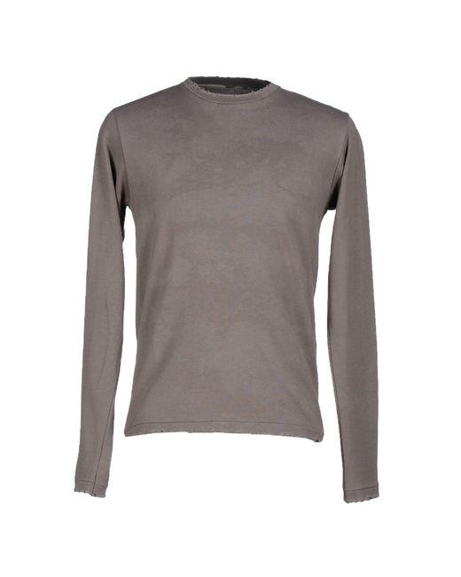 Prever - Gray T-shirt for Men - Lyst