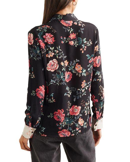 Camicia di Maje in Black