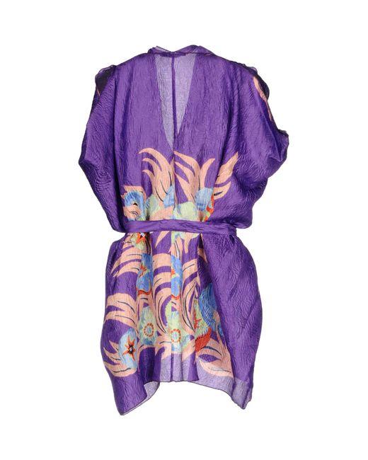 Etro Purple Blouse