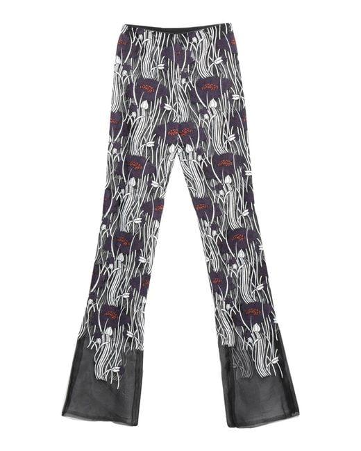Pantalones Giamba de color Black