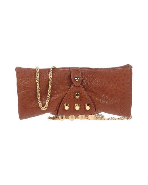 Mia Bag - Brown Cross-body Bag - Lyst