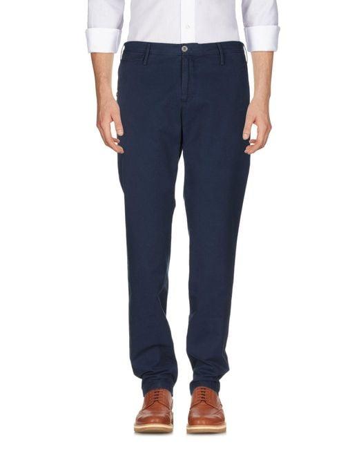 PT01 Pantalon homme de coloris bleu S2A8B