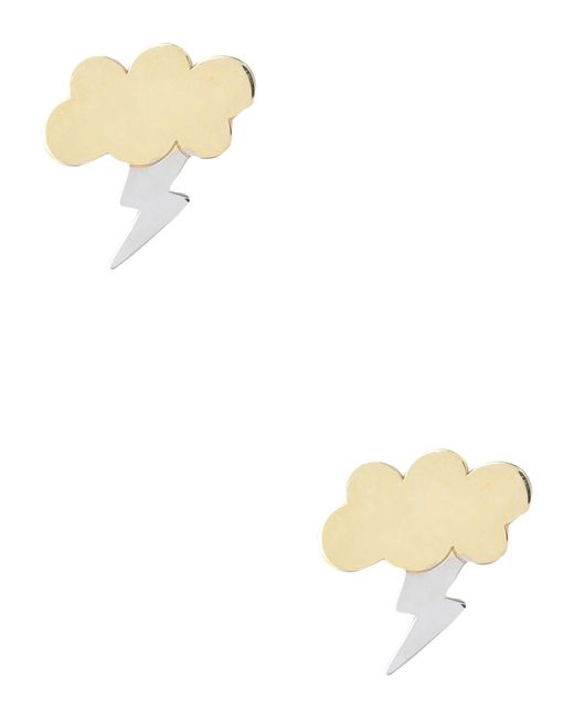 First People First - Metallic Earring - Lyst