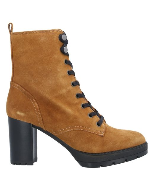 Unisa Brown Ankle Boots