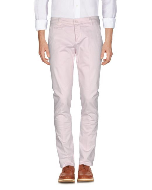 Dondup - Pink Casual Trouser for Men - Lyst