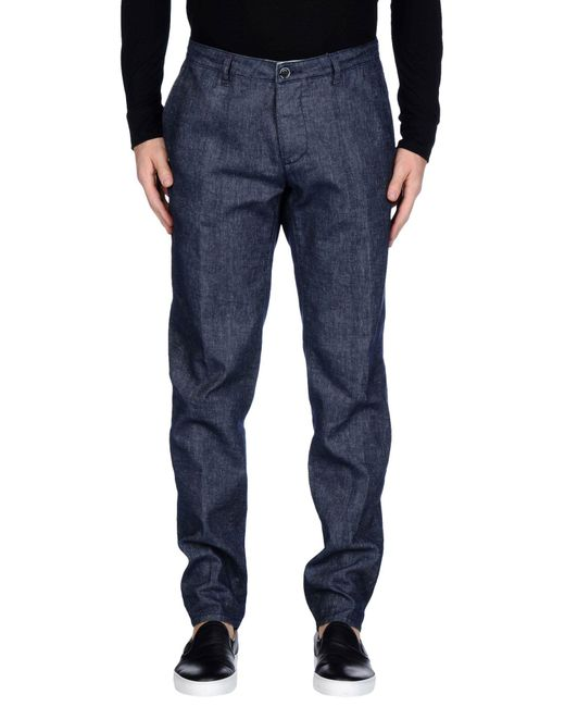 Cruna - Blue Denim Pants for Men - Lyst