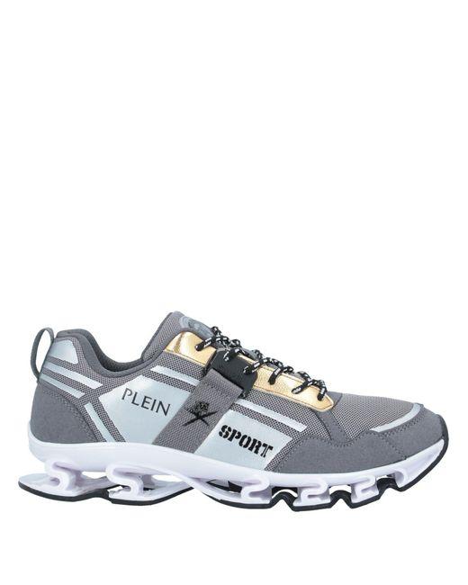 Sneakers & Tennis basses Philipp Plein pour homme en coloris Gray