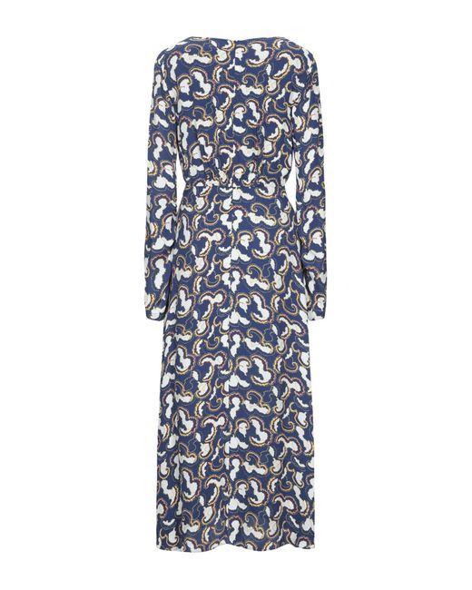 Saloni Blue Langes Kleid