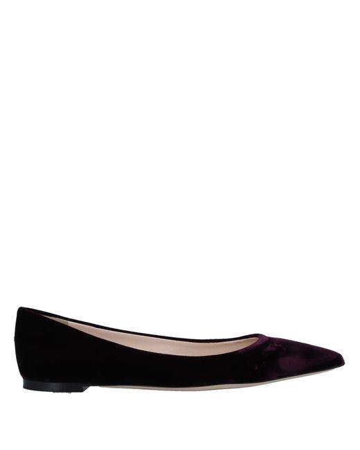Nina Ricci - Black Ballet Flats - Lyst