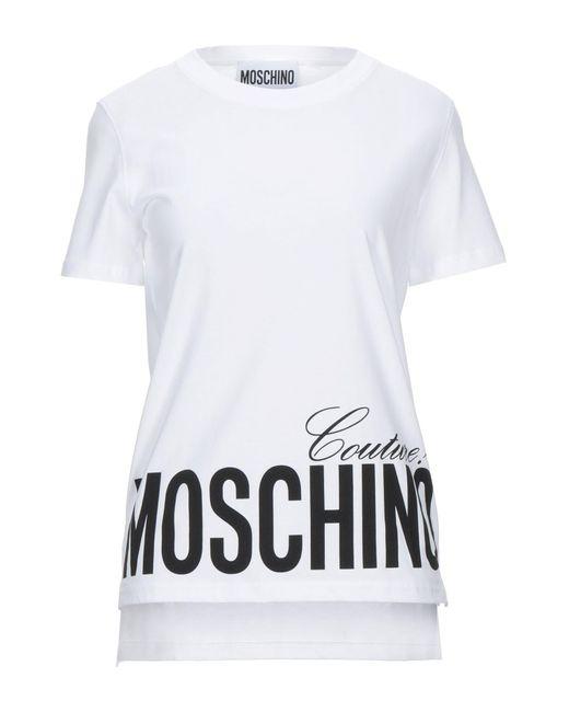 T-shirt di Moschino in White