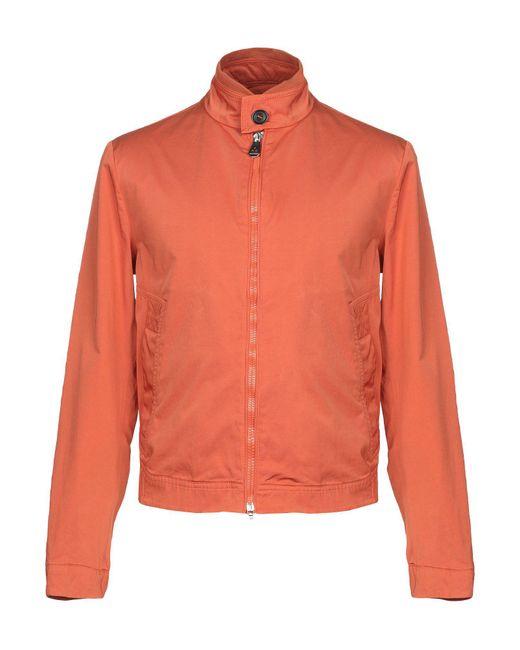 Peuterey Orange Jacket for men