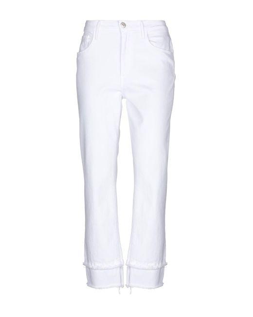 3x1 White Denim Pants