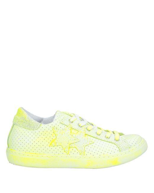 2Star Sneakers & Deportivas de mujer de color amarillo
