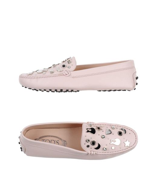 Tod's Pink Loafer