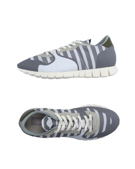 Soya Fish - Gray Low-tops & Sneakers for Men - Lyst