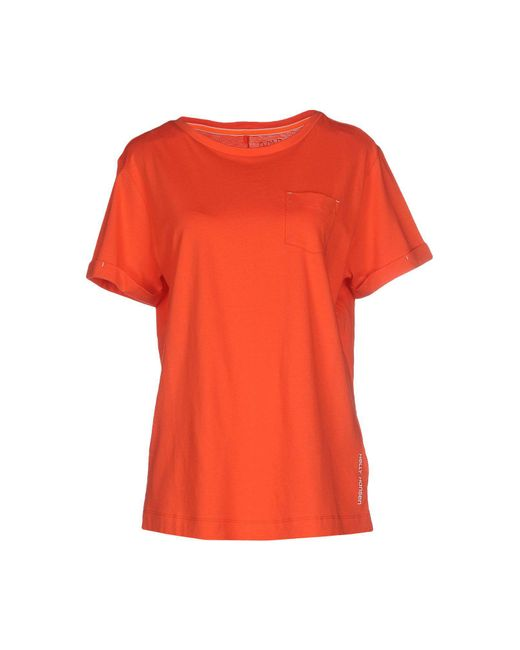 Helly Hansen - Red T-shirts for Men - Lyst