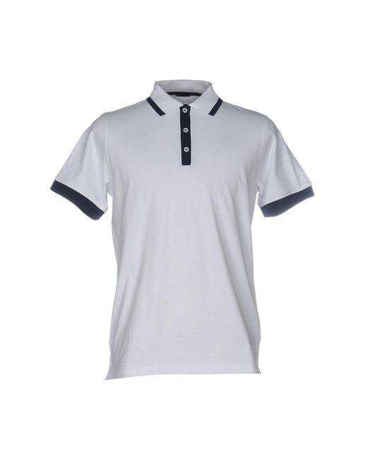 Andrea Fenzi - White Polo Shirt for Men - Lyst