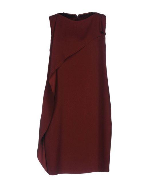 Robe courte Jucca en coloris Red