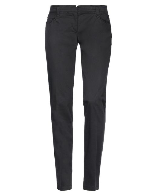 Weber Black Casual Pants