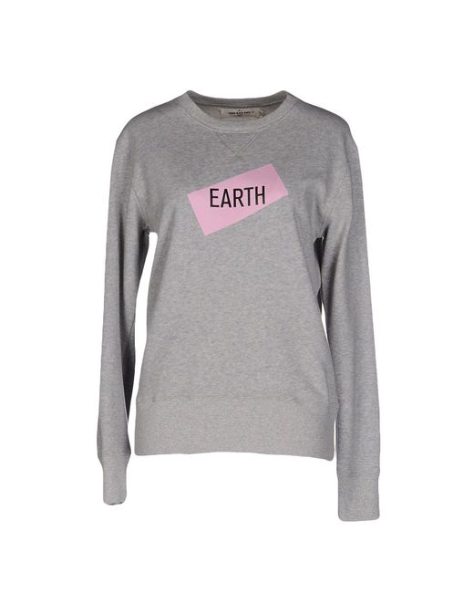 Things On Earth - Gray Sweatshirt - Lyst