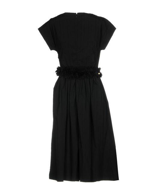 Blumarine Black Knee-length Dress