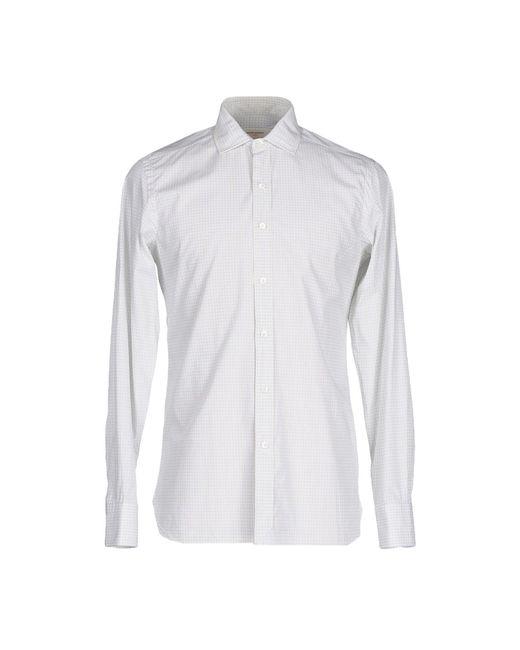 Mauro Grifoni - White Shirt for Men - Lyst