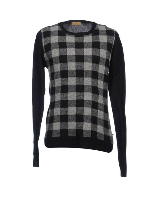 CoSTUME NATIONAL   Black Crewneck Sweaters for Men   Lyst