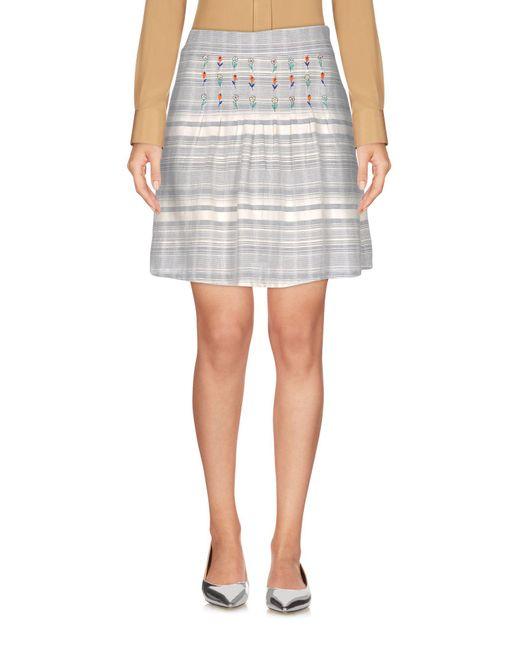 Paul & Joe - White Mini Skirts - Lyst