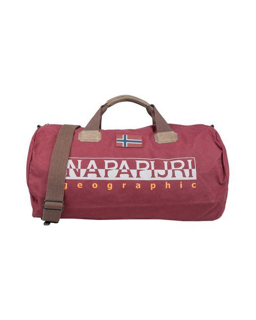 Napapijri Red Travel & Duffel Bag