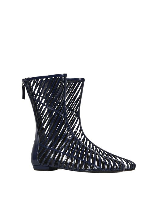Botines de caña alta Giorgio Armani de color Blue