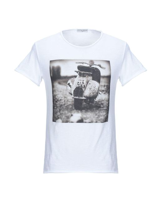 Athletic Vintage White T-shirt for men