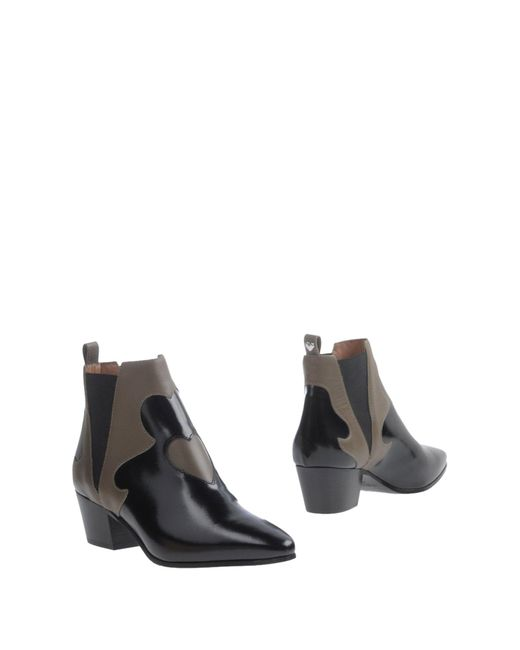 Twin Set | Black Ankle Boots | Lyst
