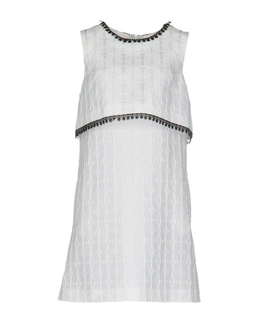 Space Style Concept - White Short Dresses - Lyst