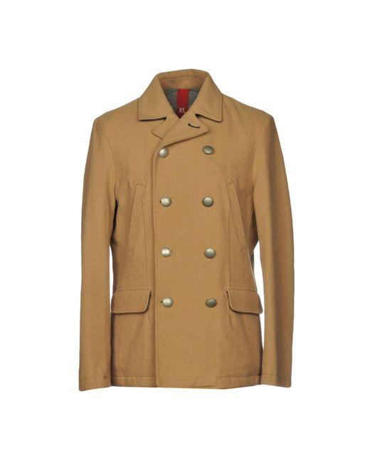 AT.P.CO - Natural Coat for Men - Lyst