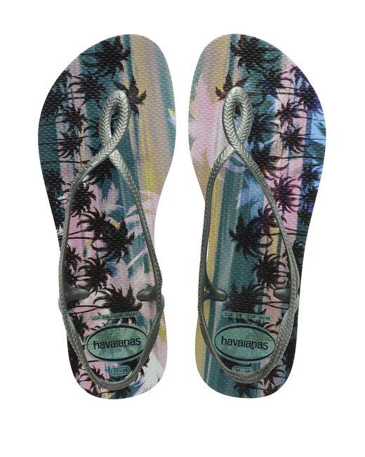 Havaianas - Green Toe Post Sandal - Lyst