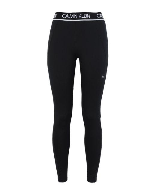 Leggings di Calvin Klein in Black