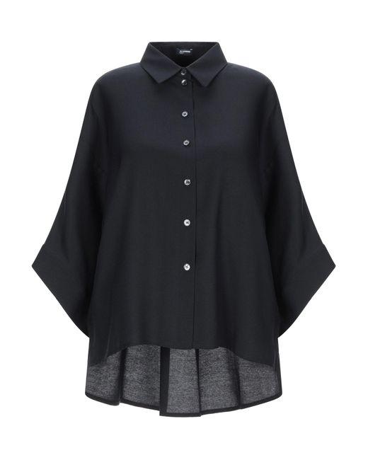 Jil Sander Navy Camisa de mujer de color azul o2hee