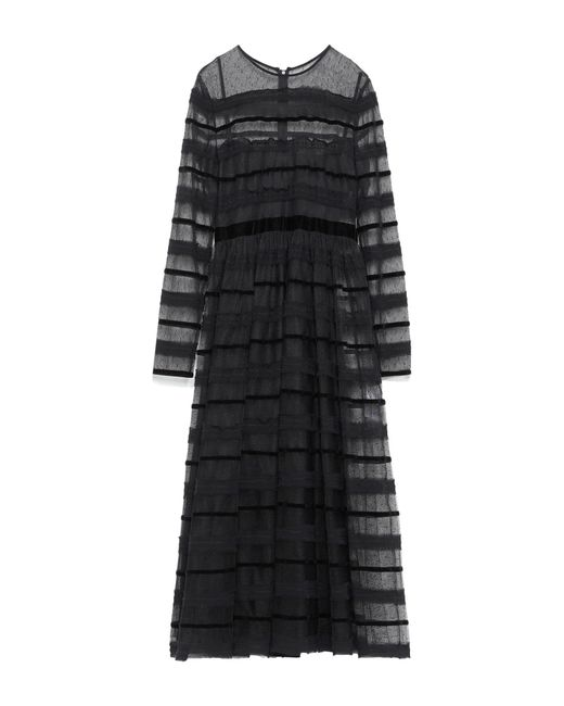 RED Valentino Black 3/4 Length Dress