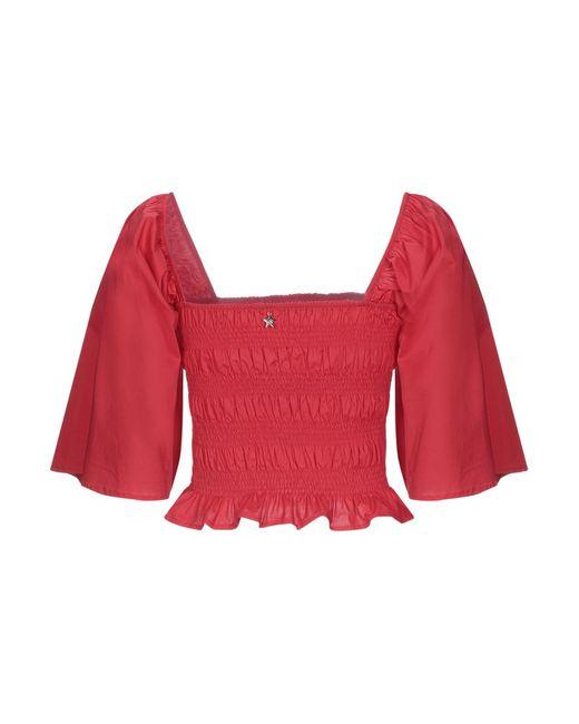 Souvenir Clubbing Red Bluse