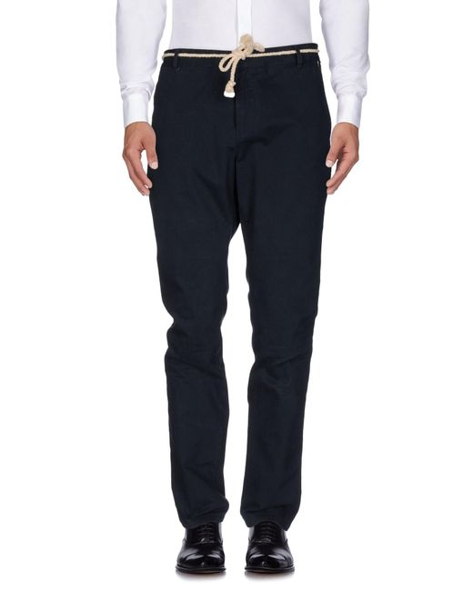 ELEVEN PARIS - Blue Casual Trouser for Men - Lyst