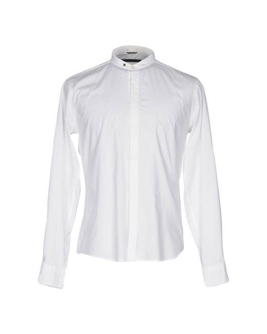 Camicia di Daniele Alessandrini in White da Uomo