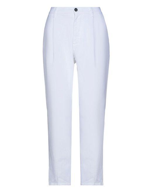TRUE NYC White Denim Pants