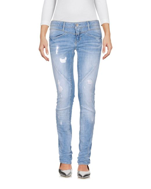Guess Blue Denim Trousers