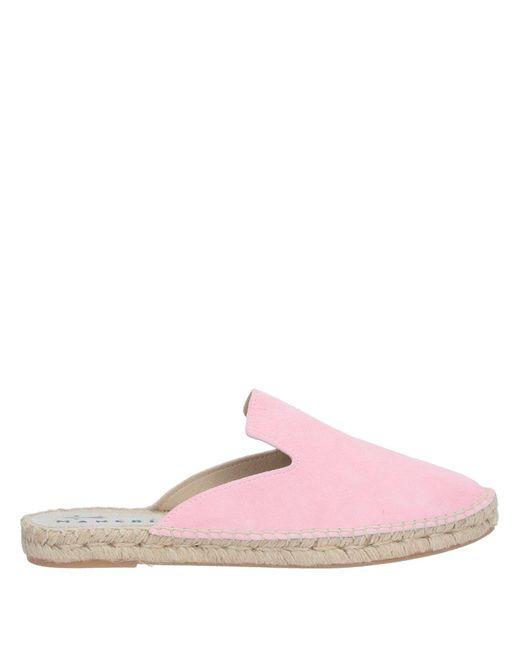 Manebí Pink Mules