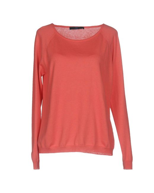 Blue Les Copains | Pink Sweater | Lyst
