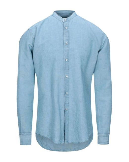 Chemise en jean Brian Dales pour homme en coloris Blue