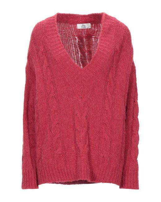 Pullover Attic And Barn de color Red