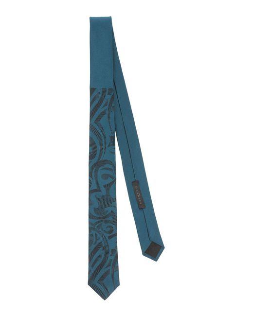 John Richmond - Blue Tie for Men - Lyst