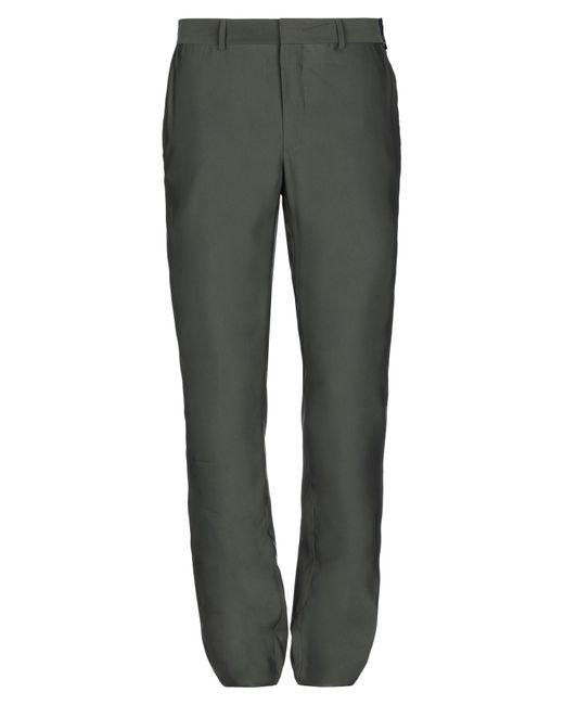 Fendi Green Casual Trouser for men